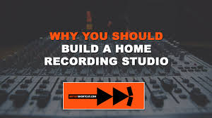 why you should build a home recording studio artist shortcut