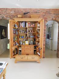 pantry storage with food and wooden materials storage made for
