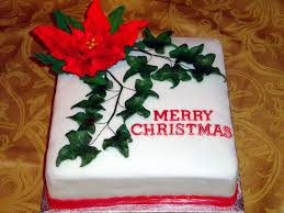 Christmas Cake Decorations Poinsettia by Handmade Traditional Christmas Cakes In Dublin Swords Nfcakes Ie