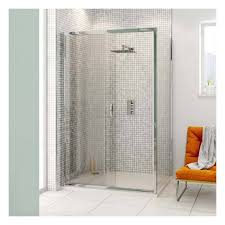 1000mm x 760mm sliding door shower enclosure
