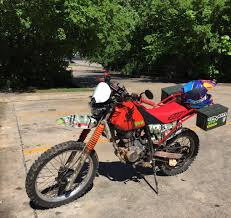 honda xr street legal 1990 honda xr 200r build dualsport