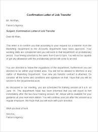 brilliant ideas of sample job relocation letter from employer