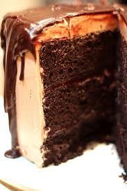 dark chocolate fudge cake created by diane