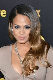 empire the television show hair and makeup christina milian in just enaj nude kim deep v midi dress fox s
