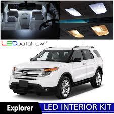 Ford Explorer Running Boards - amazon com ledpartsnow 2011 2017 ford explorer led interior