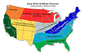 early 2015 16 winter forecast a regional breakdown