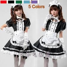 Maid Costumes Halloween Servant Women Cosplay Black Party Halloween Fancy Dress