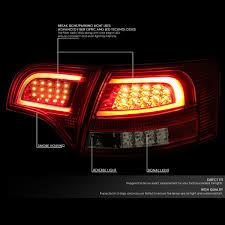 audi brake light amazon com audi b7 a4 s4 avant smoked housing lens 3d led