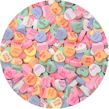 valentines heart candy conversation hearts candy small 3 lb bulk bag great service