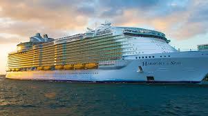 royal caribbean harmony of the seas royal caribbean s harmony of the seas begins caribbean voyages