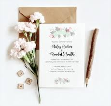 Design Your Own Invitations Design Your Own Spring Wedding Invitation In Illustrator Melanie