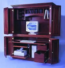 Small Corner Computer Armoire Corner Computer Armoire Desk U2013 Perfectgreenlawn Com