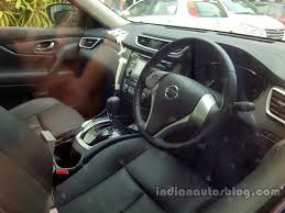 nissan terrano india interior nissan x trail spied in india