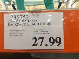 Beach Chairs Costco Tommy Bahama Backpack Beach Chair U2013 Costcochaser