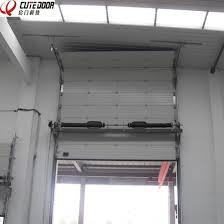 Overhead Security Door China Security Sectional Overhead Freezer Vertical Overhead
