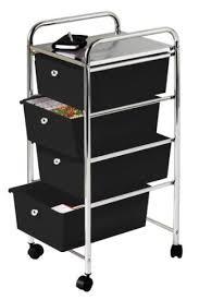 cassetti per cucina premier housewares 1600349 carretto 4 cassetti in plastica