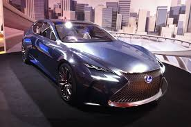 lexus concept lf lc new lexus lf fc fuel cell concept to go on sale before 2020 autocar