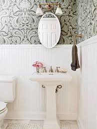 wallpaper designs for bathrooms bathroom budget tub yellow spaces small ensuite colors tiny design