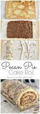 pecan pie thanksgiving pecan pie cake roll home made interest