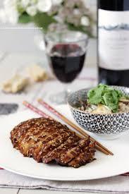 cuisine coriandre dans la cuisine de canard teriyaki au sésame riz au