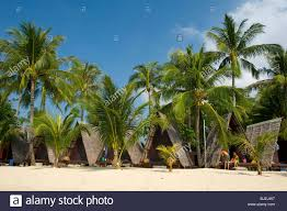 beach hut lamai beach ko samui thailand stock photo royalty