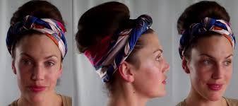 hotd dirty hair updo scarf u0026 retro bouffant bun hairstyle tutorial