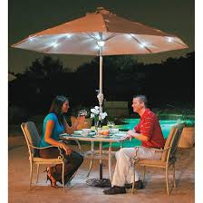 Patio Umbrella With Solar Led Lights by Patio Umbrellas With Solar Lights Design Ideas Best Photos Of