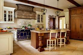 Kitchen With Cream Cabinets by Granite Countertops With Antique Cream Cabinets Innovative Home Design