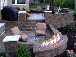 Patio Firepit Lovely Gas Pit Safety Summer Nights With Outdoor Pits