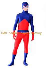 Elektra Halloween Costume Aliexpress Buy Free Shipping Dhl Dc Comics Atom Ray Palmer
