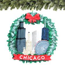 chicago ornaments gifts souvenirs