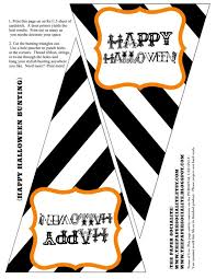 Halloween Skeleton Decoration Printable by Halloween Printable Decorations Happy Halloween Birthday When