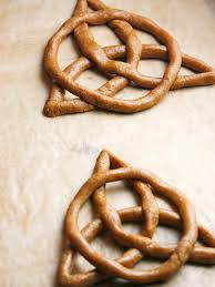 celtic knot cookies recipe hgtv