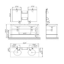 Standard Kitchen Base Cabinet Height Standard Height For Bathroom Sink Befitz Decoration