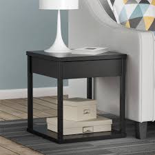 Tiny Accent Table by Better Homes And Gardens Crossmill Night Stand Weathered Finish