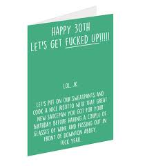 12 brutally honest 30th birthday cards 30th birthday cards