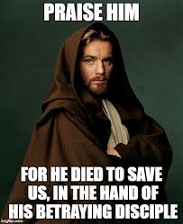 Praise Jesus Meme - jesus obi wan kenobi imgflip