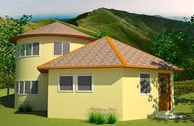 roundhouse hexagon earthbag house plans