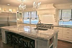Different Countertops | are the two countertop edges different for the island and perimeter