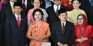 profil jokowi dan jk ini susunan kabinet kerja jokowi jk dream co id