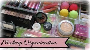 Desk Trays Walmart How To My Makeup Storage U0026 Organization Walmart U0026 Dollar Tree