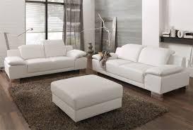 2er sofa weiãÿ polstergarnitur lupo in weiß aus kunstleder pharao24 de