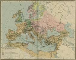 Historical Maps Of Europe by Of Religion 600 1300