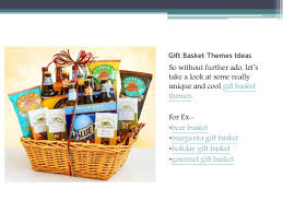 cool gift baskets get some unique gift basket themes
