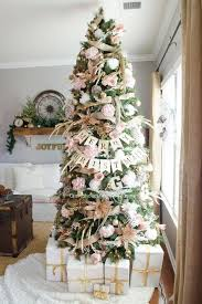 M M Christmas Tree Decorations by Pink Christmas Tree Decor Ideas Southern Living