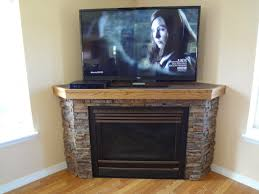 furniture black painted wooden corner tv stand with shelves and