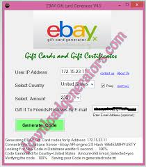 free gift cards by mail free ebay gift card code generator no survey