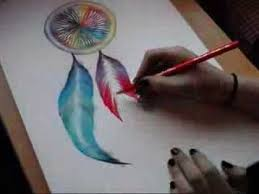 drawing a dreamcatcher with chalk youtube