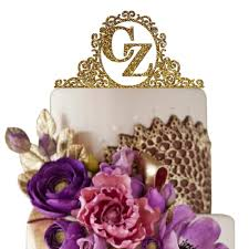 wedding cake toppers letters top 10 best monogram cake toppers heavy