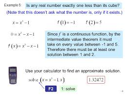 most of the techniques of calculus require that functions be